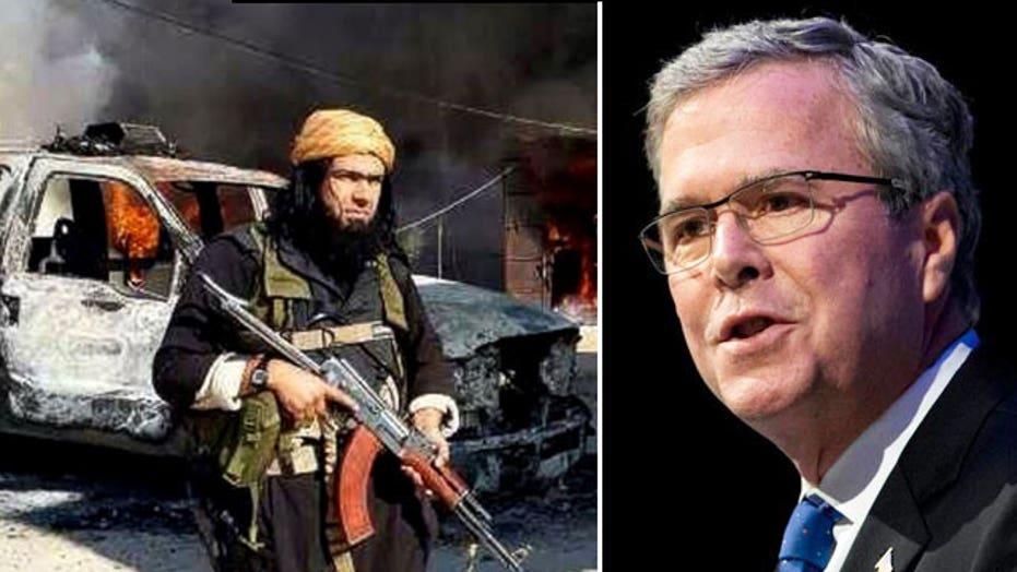Jeb Bush's problem and ISIS' presence in Iraq