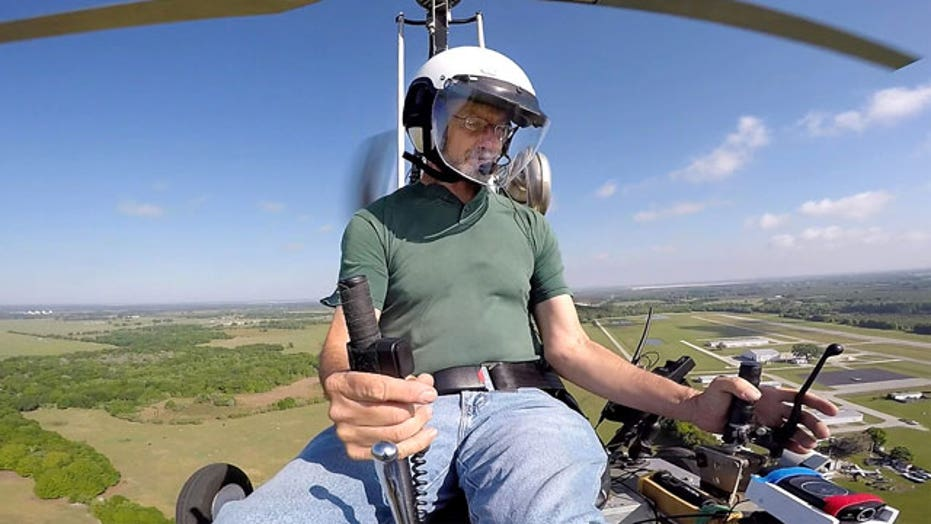 Gyrocopter pilot released from police custody