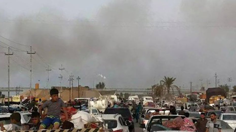 Iraqi city of Ramadi at risk of falling to ISIS