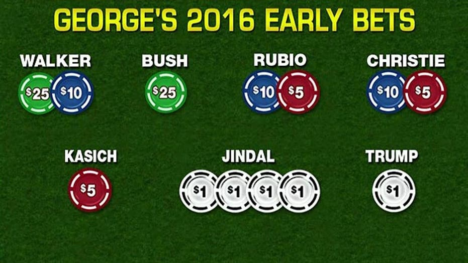 Latest bets in the Candidate Casino