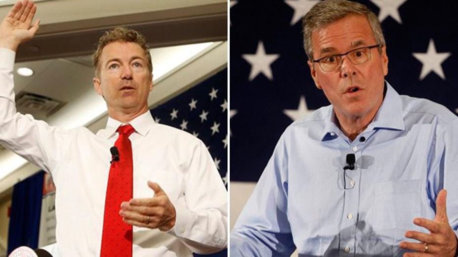 GOP candidates speak at New Hampshire 2016 summit
