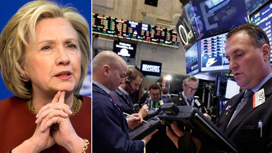 Does Main Street identify with Hillary Clinton?