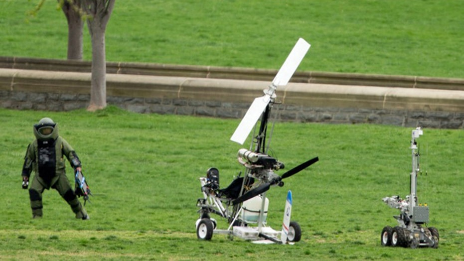 Eric Shawn reports: Gyrocopter man's message