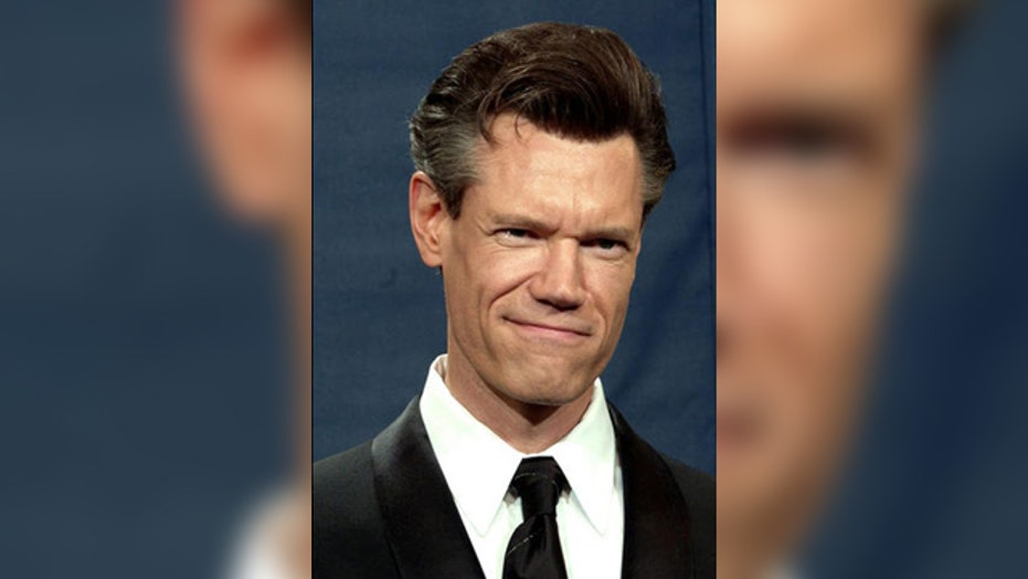 Randy Travis attends ACMs