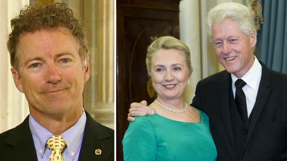 Rand Paul says Clinton Foundation details are 'alarming'