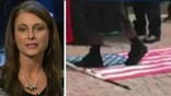 Veteran who stopped flag desecration speaks out