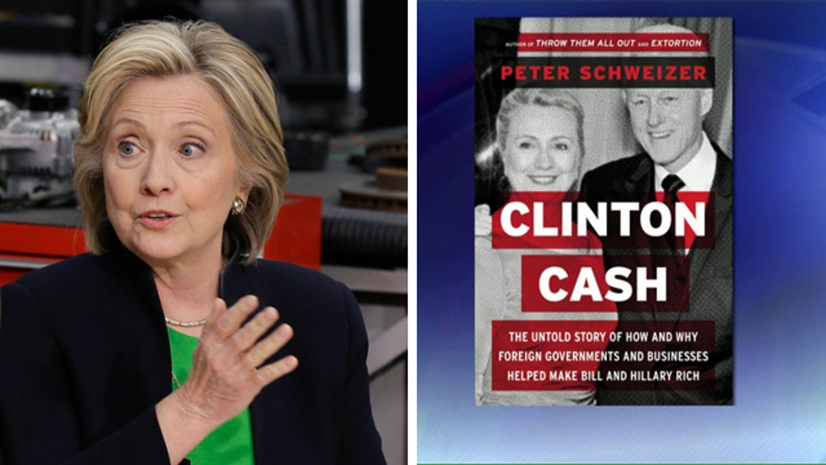 Hillary responds to 'Clinton Cash' claims