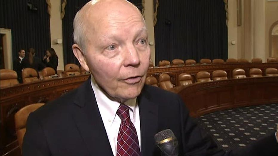 IRS commissioner stands by strapped cash claims