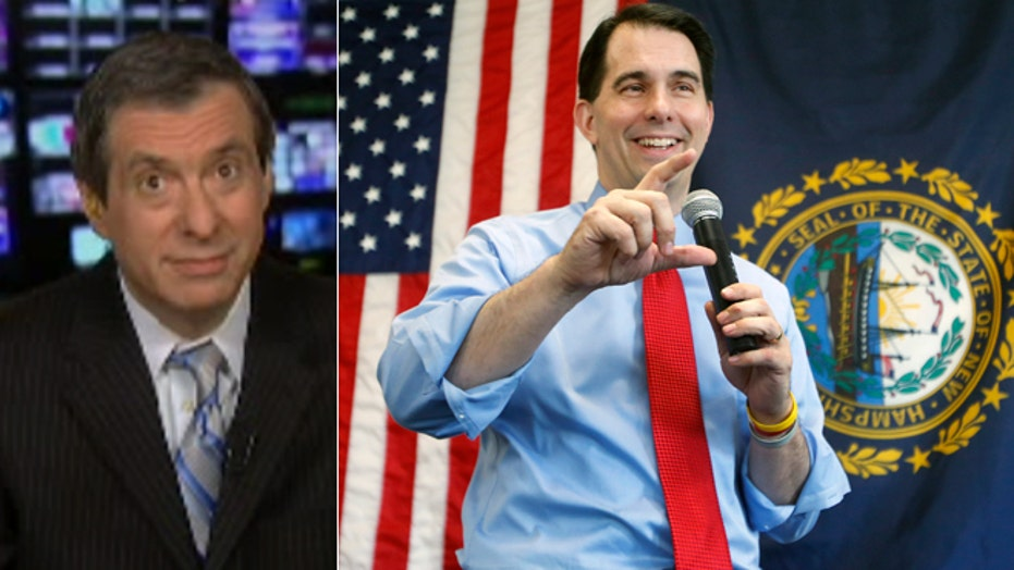 Kurtz: The suddenly elusive Scott Walker