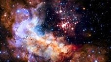 Stunning image of star cluster marks milestone for telescope