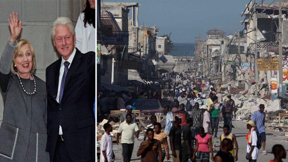 How Haiti earthquake helped enrich the Clintons