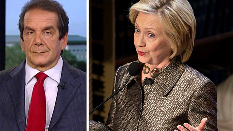 VIDEO: Krauthammer: Clinton self-inflicted wounds