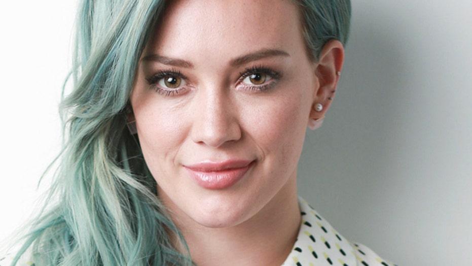 Hilary Duff on Tinder