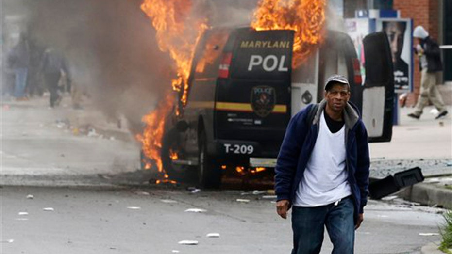 Is Ferguson to blame for the Baltimore riots?