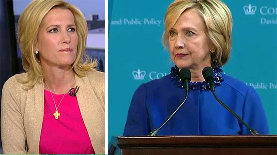 VIDEO: Ingraham: Clintons' interests come before America