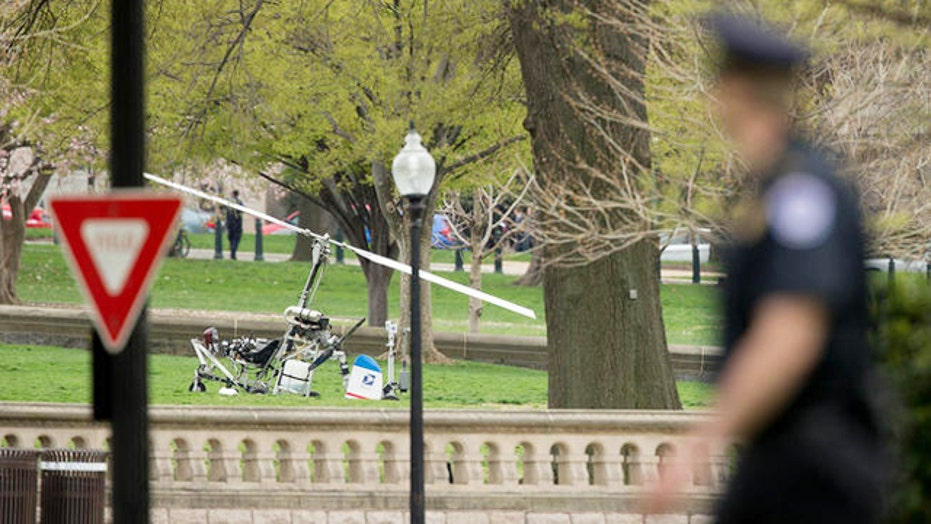 Officials grilled over gyrocopter landing on Capitol lawn