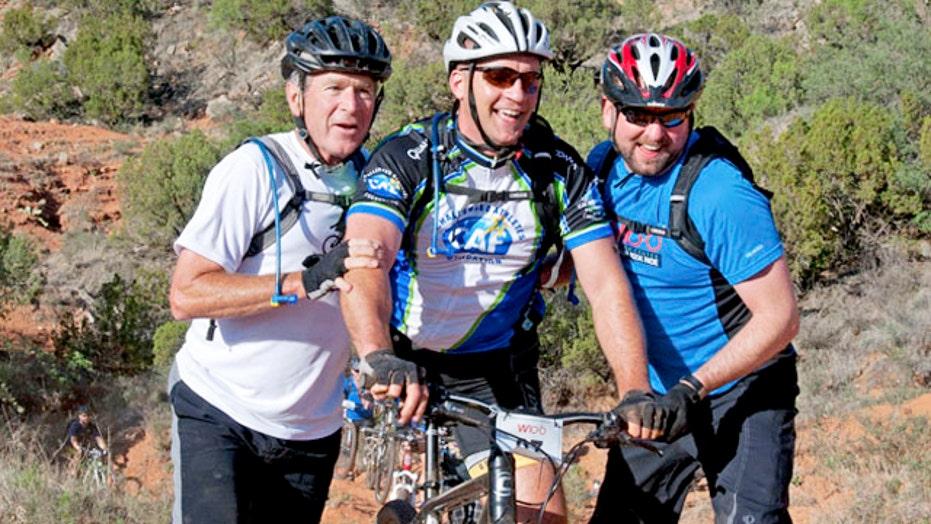 President George W. Bush hosts 5th annual W100K bike ride