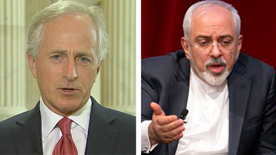 Corker responds to Iran calling out Congress on nuke deal