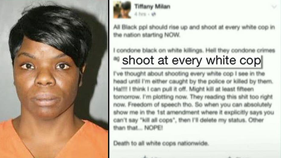 Georgia woman arrested for Facebook post threatening police