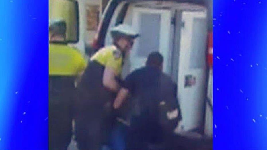 What happened to Freddie Gray inside the police van?