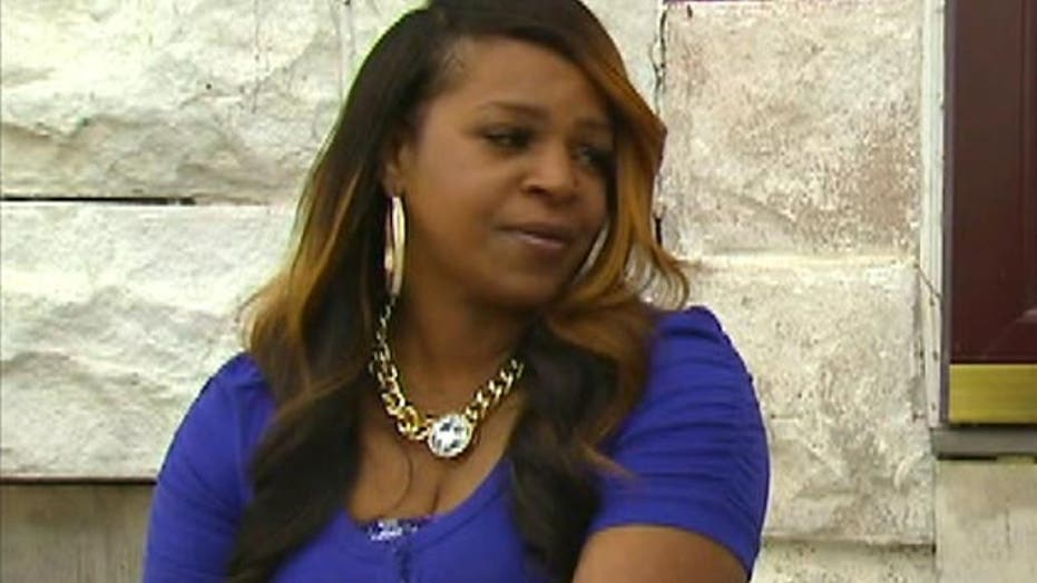 Baltimore's 'Mom of the Year' on sudden fame, saving her son