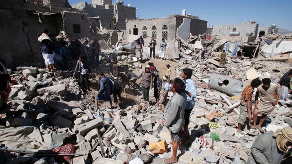 Reports of civilians killed in Saudi-led airstrikes in Yemen