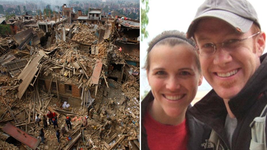 American family helps relief effort in Nepal
