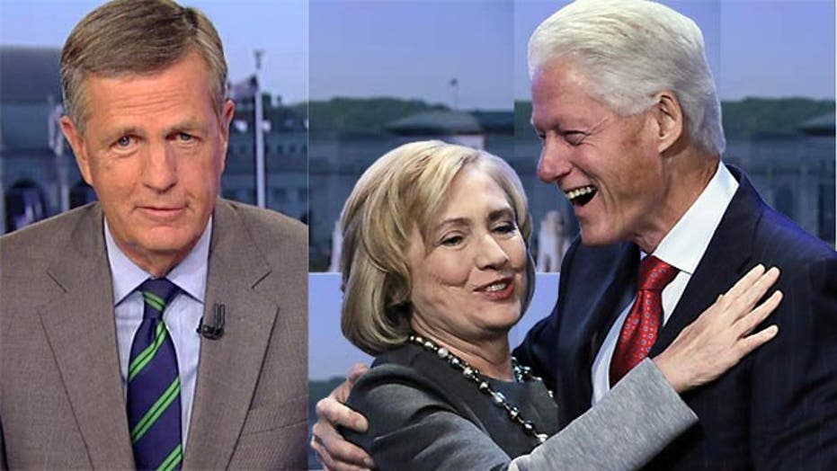 Hume: Clintons are in a class by themselves