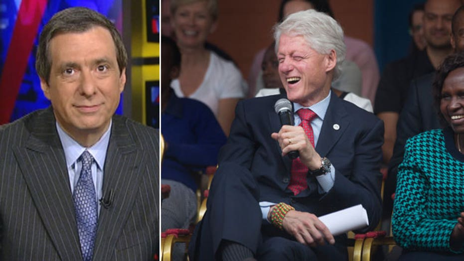 Kurtz: Bill Clinton admits no mistakes on foundation