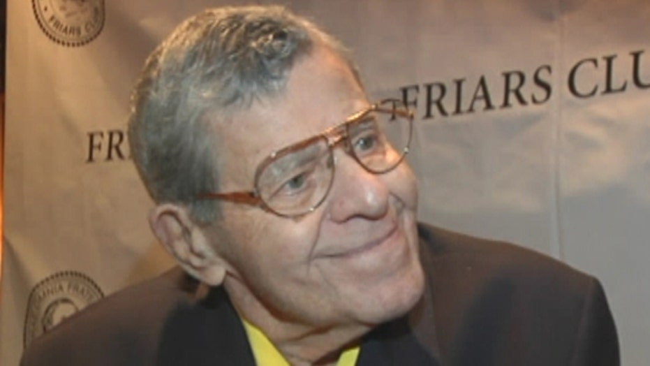 Jerry Lewis reacts to end of MDA telethon