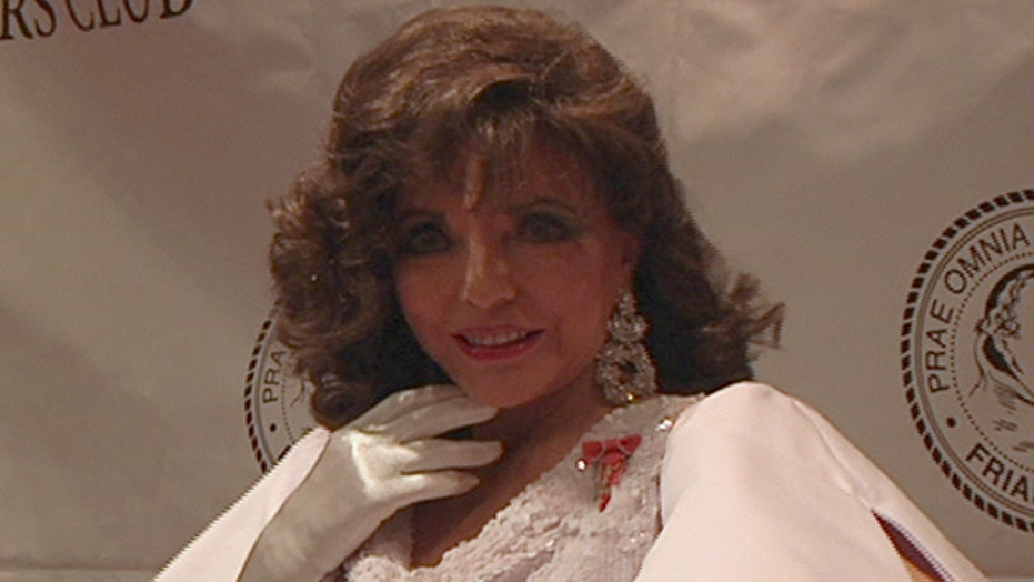 Joan Collins on fame, becoming a dame