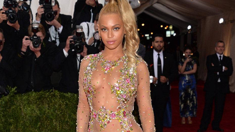 Beyonce's sheer look shocks