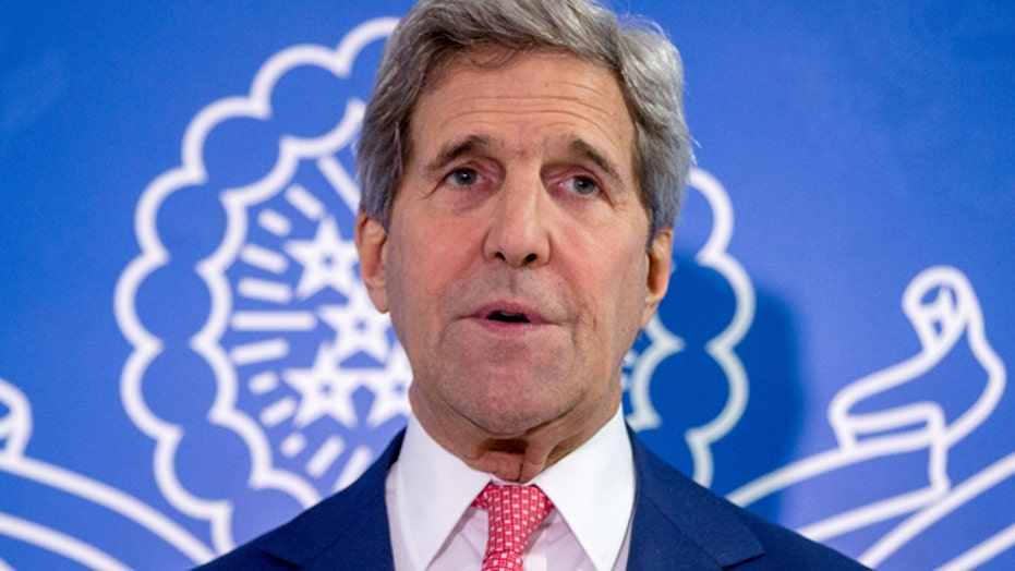 John Kerry becomes first secretary of state to visit Somalia