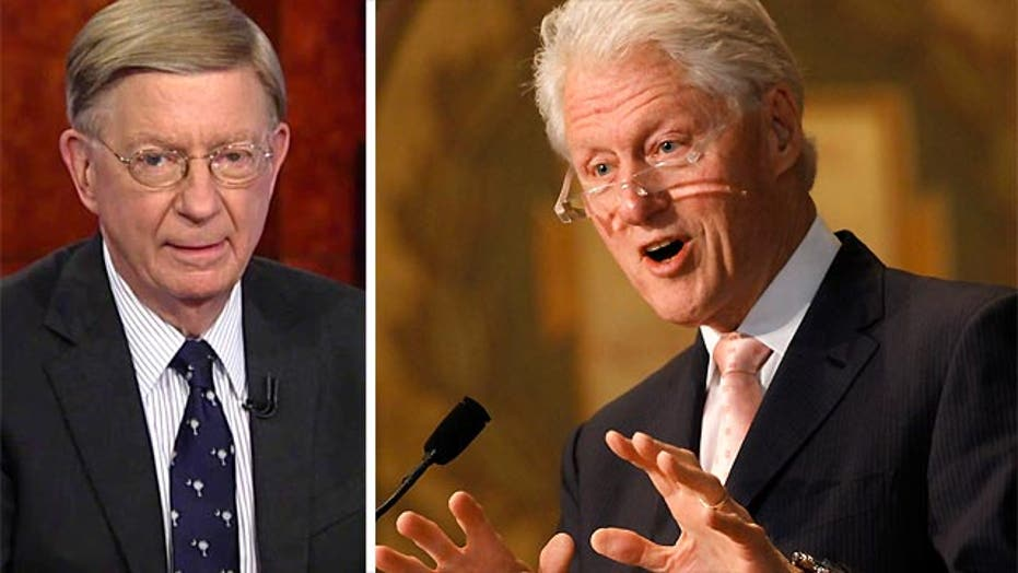 """Will : Bill Clinton's """"knowingly"""""""
