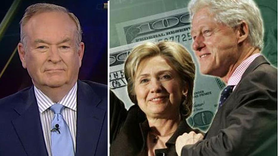 O'Reilly on call for FBI investigation of Clinton Foundation