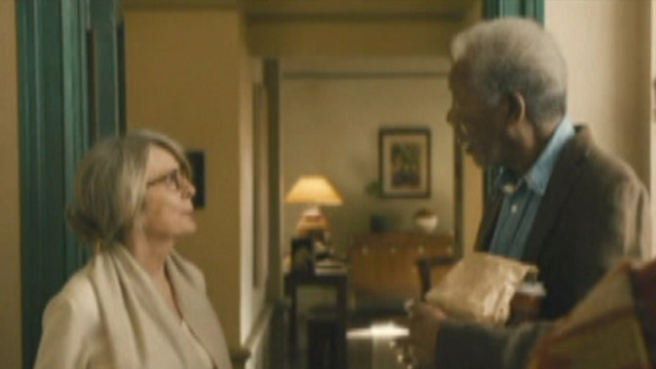 Morgan Freeman and Diane Keaton adorable in '5 Flights Up'