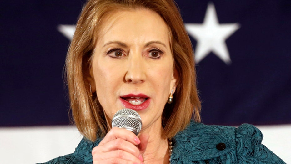 Fiorina's lack of political background help or hurt WH run?