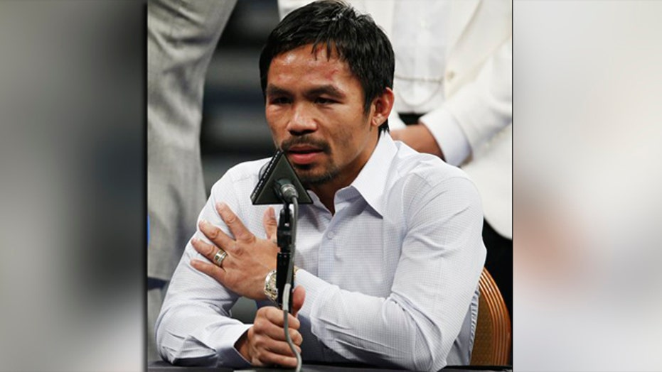 Lawsuit claims Pacquiao knew of injury weeks before fight