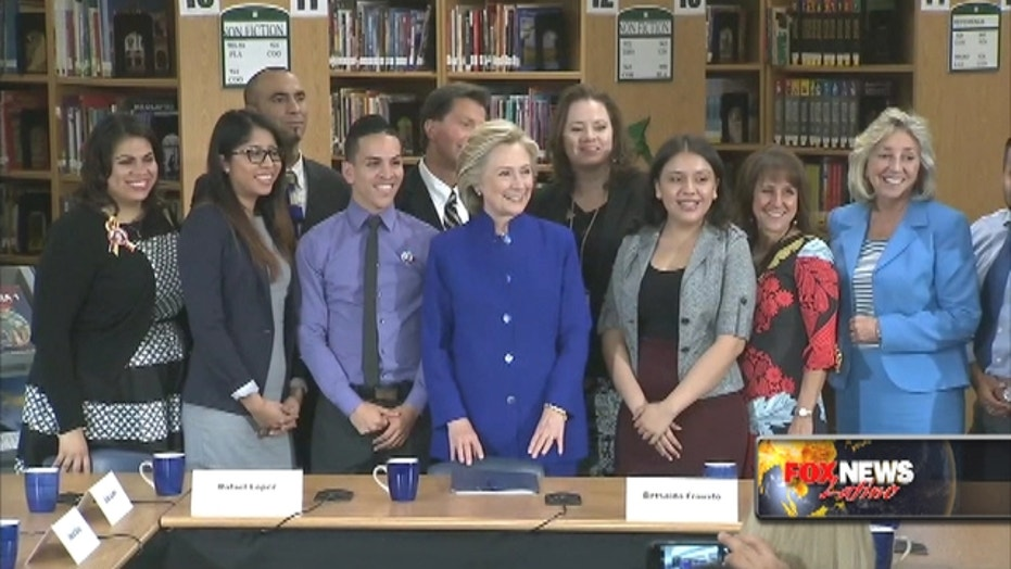 Hillary Clinton makes immigration central to campaign