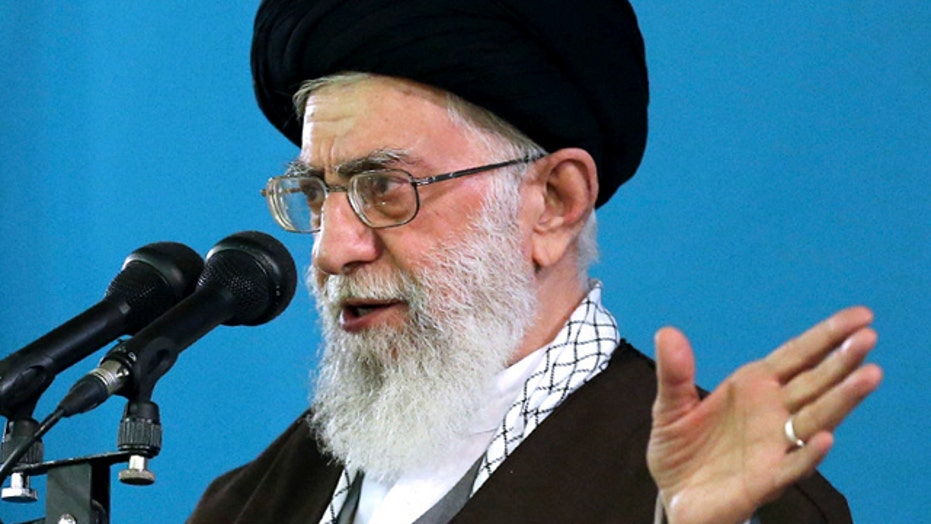 Ayatollah warns Iran won't negotiate under military threat