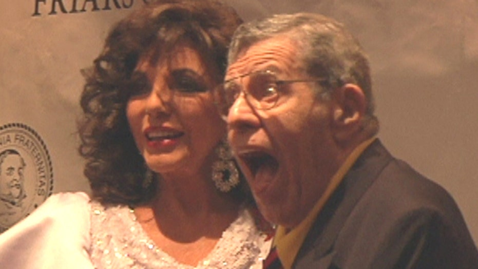 Jerry Lewis, Joan Collins talk aging