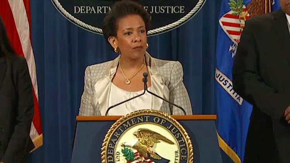 Attorney General Lynch announces probe of Baltimore police