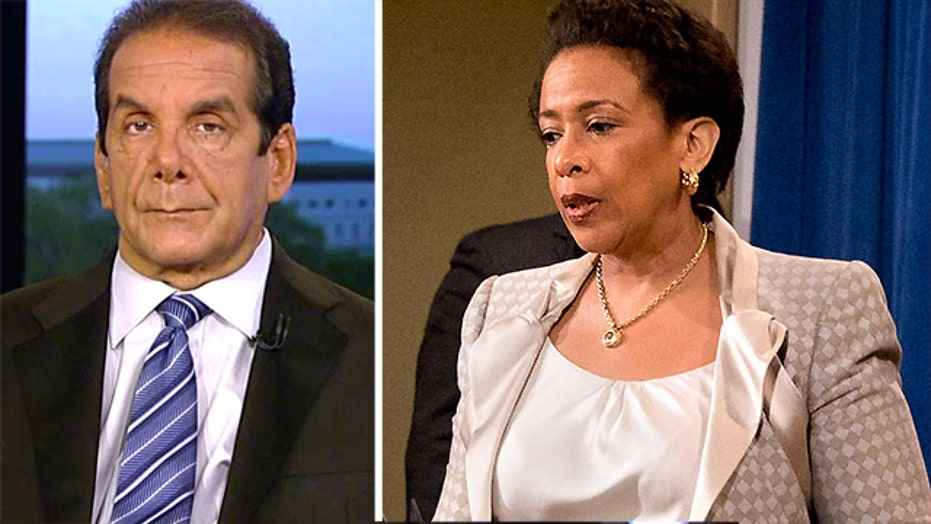 VIDEO: Krauthammer: Stop nationalizing local enforcement