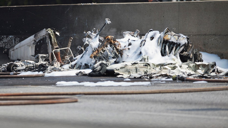 Four dead after small plane crashes on Georgia highway