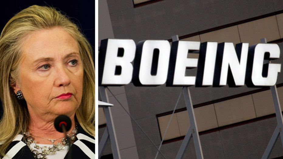 New ethical questions about Clinton's role in Boeing deal
