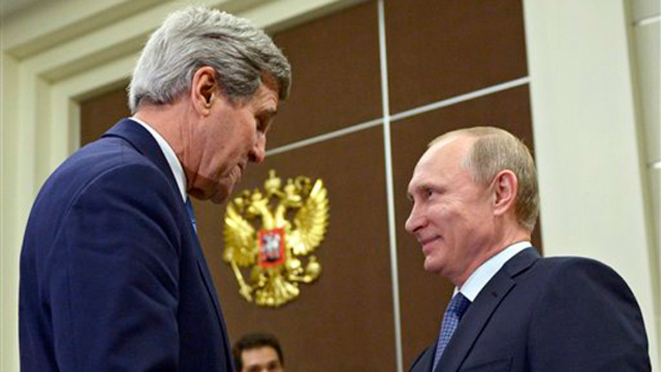 Will Kerry's visit help thaw frosty US-Russia relations?