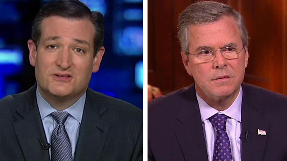 Ted Cruz responds to Jeb Bush's stance on immigration, Iraq