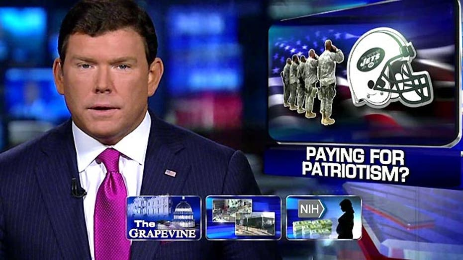 Grapevine: Paying for patriotism during America's Game?
