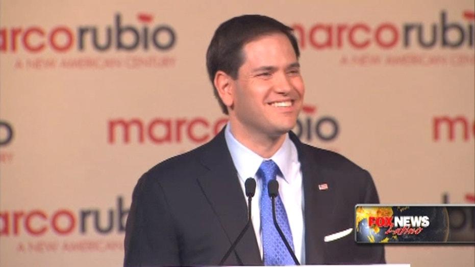 Rubio tops the list of GOP presidential contenders