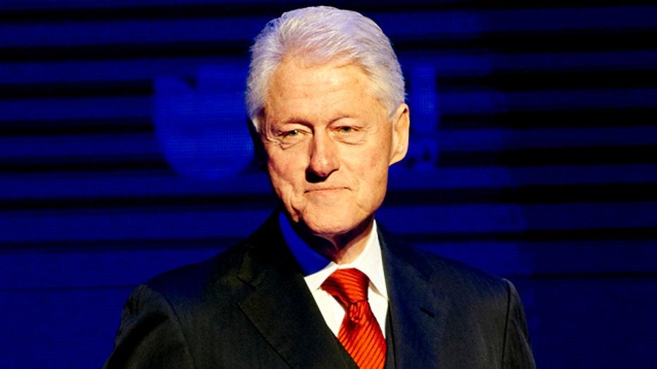 Bill Clinton maintains high profile as Hillary ducks press